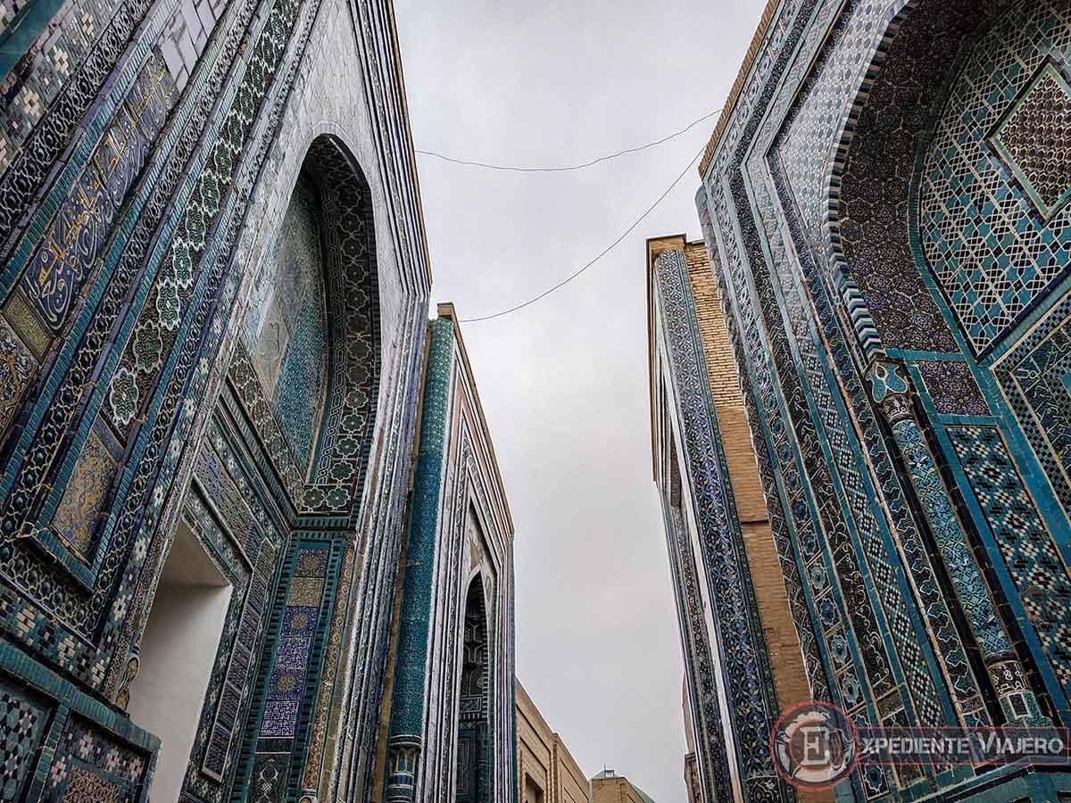 Calle de los mausoleos Shah-i-Zinda