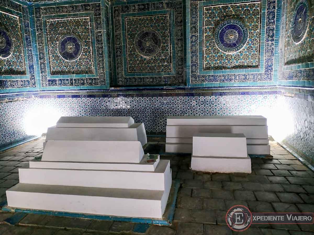 Mausoleo Shodi Mulk Oko
