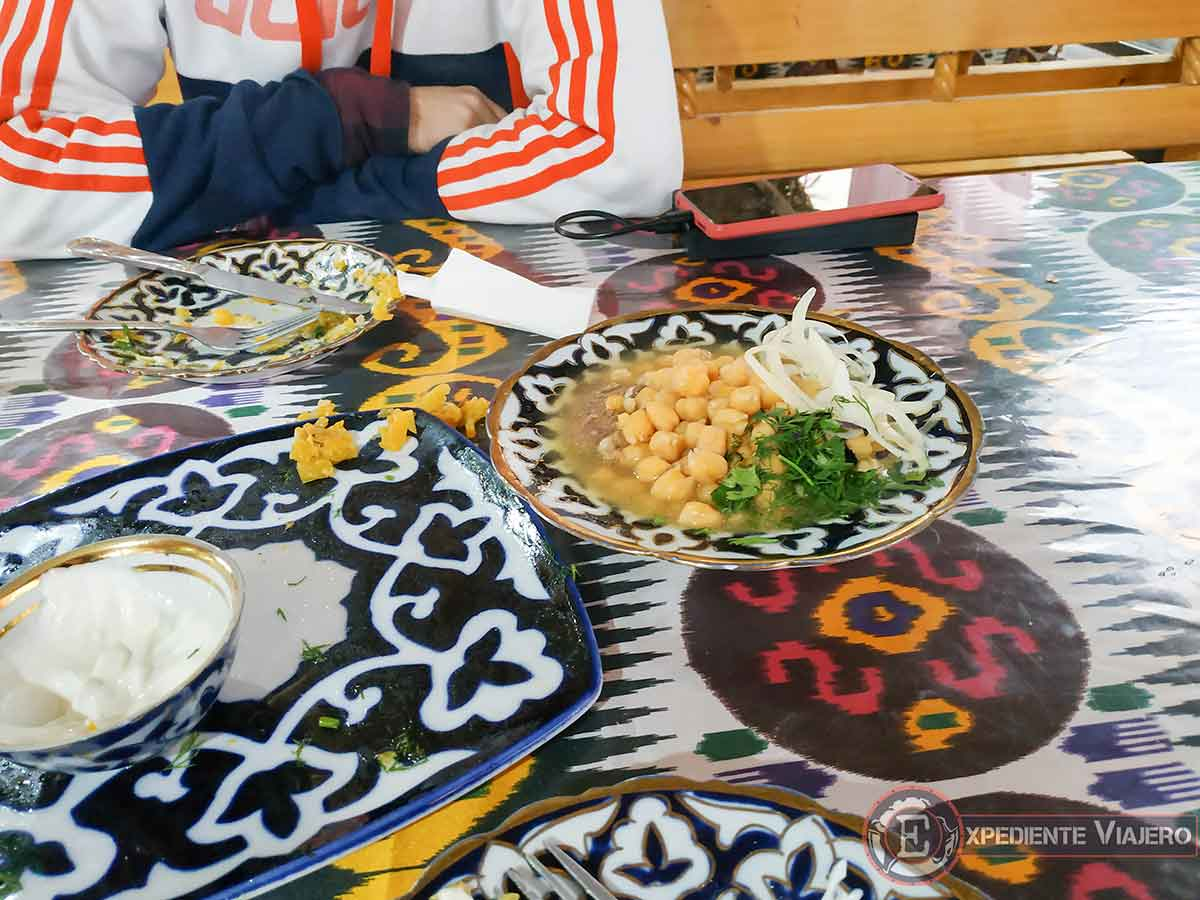 Dónde comer en Samarcanda