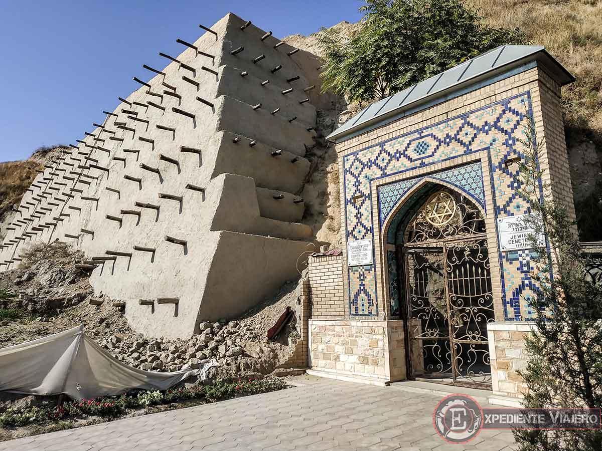 Cementerio judío en Samarcanda