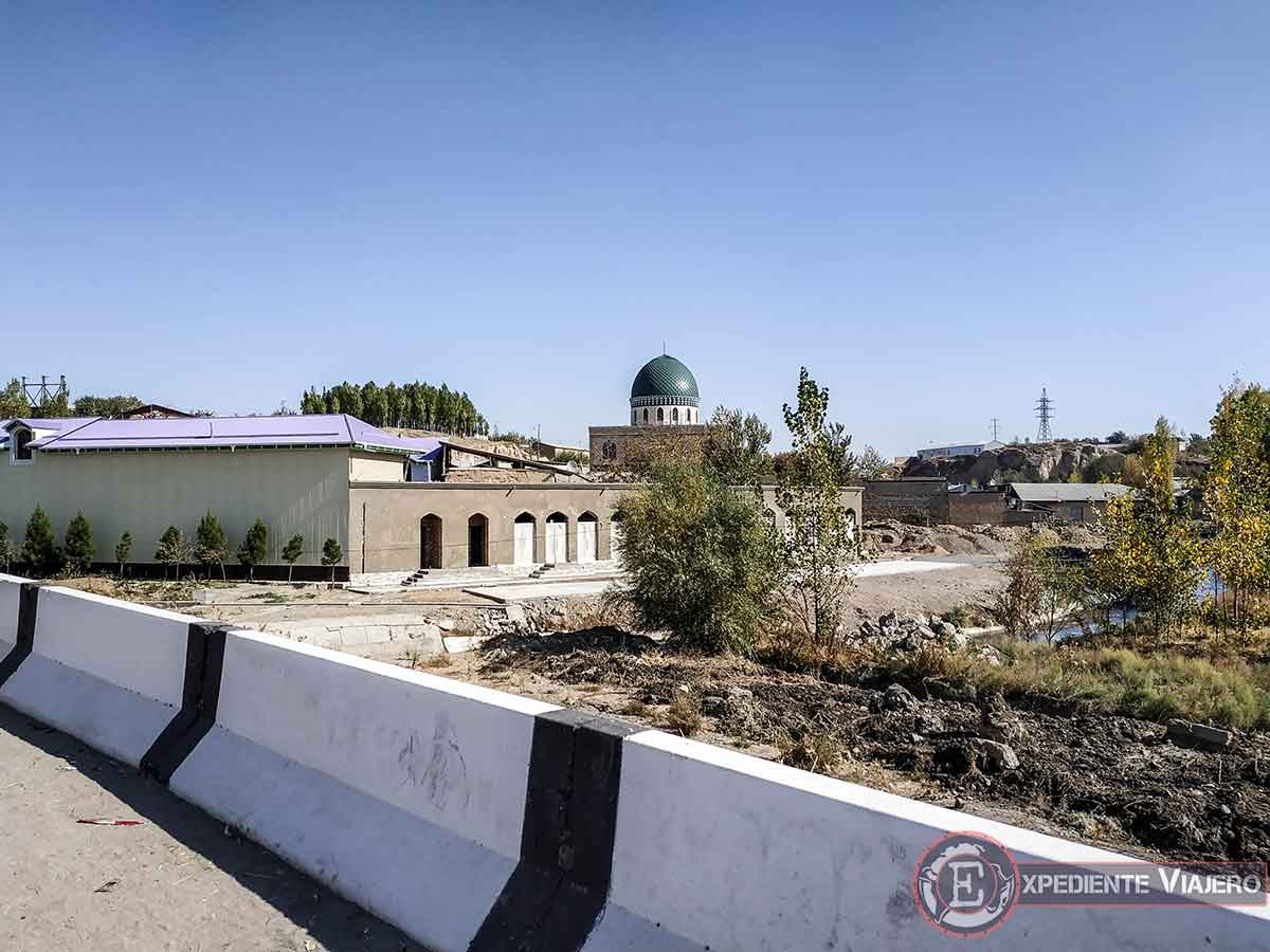 Vista desde la carretera del observatorio de Ulugh Beg
