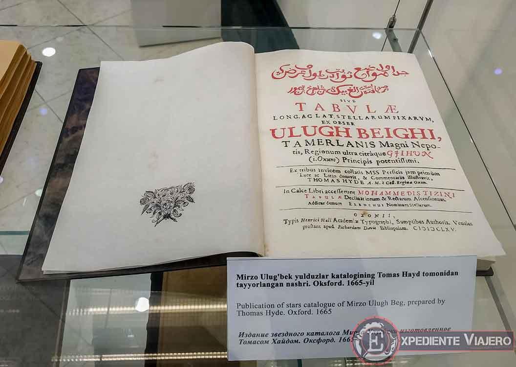 Catálogo de estrellas de Ulugh Beg