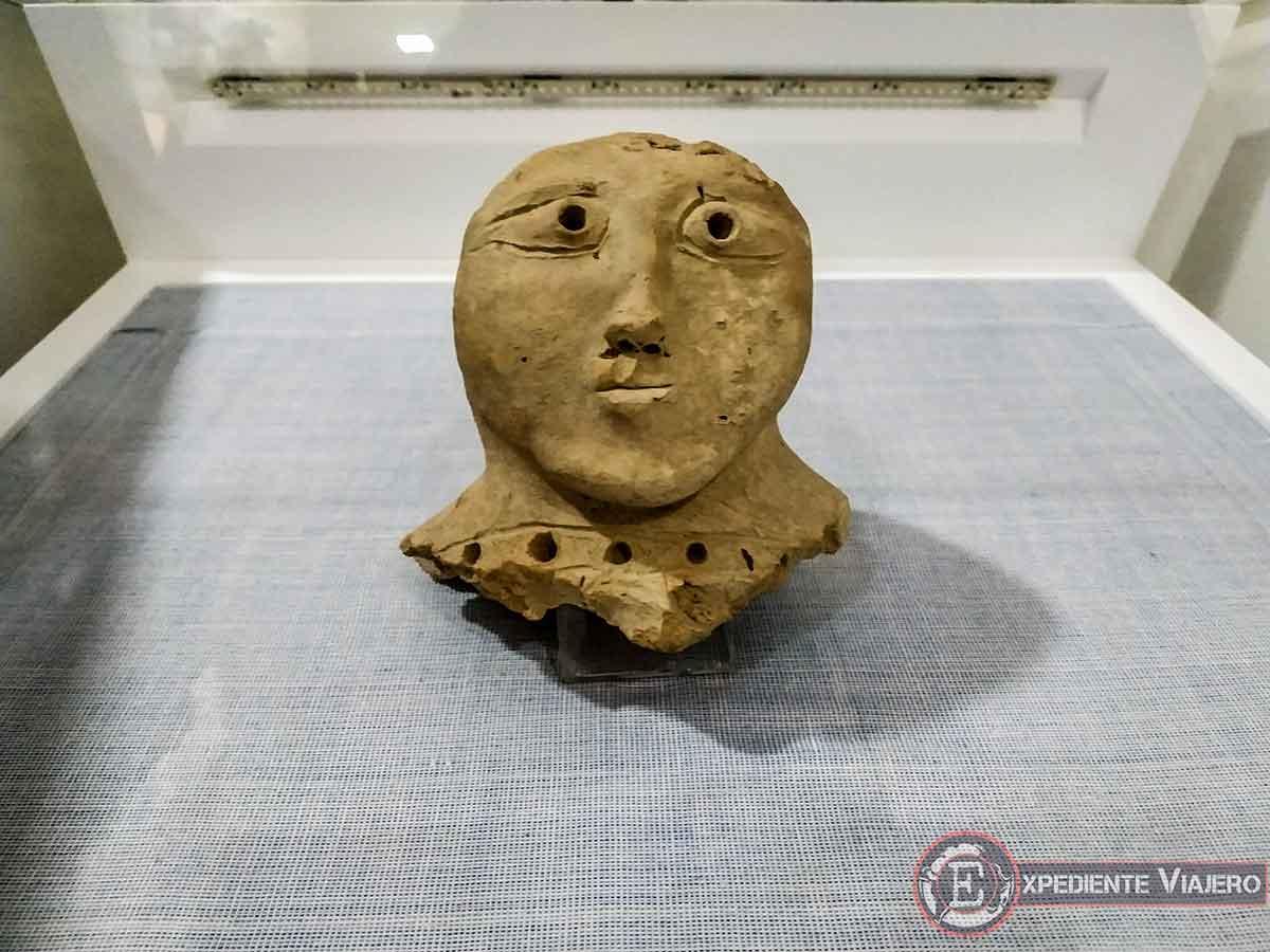 Figura del museo Afrosiab