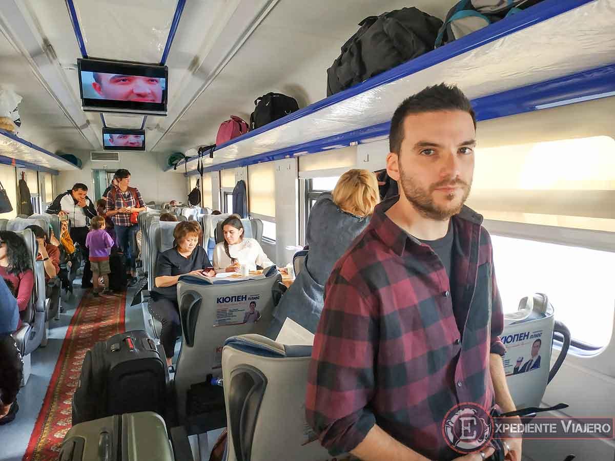 Tren de Samarcanda a Bujará