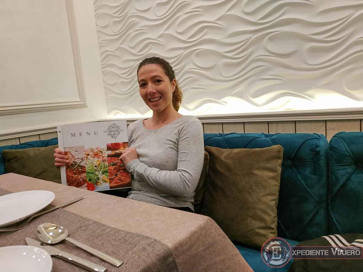Restaurante italiano Bella Italia en Bujará