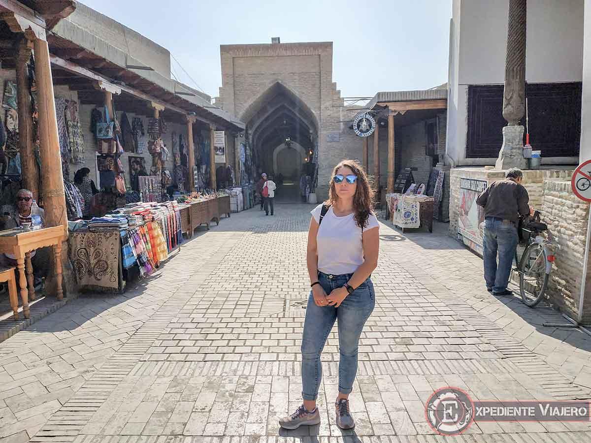 Los bazares de Bukhara