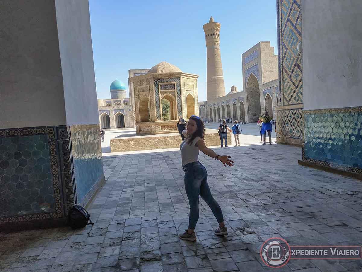 Qué ver en Bukhara: Mezquita Kalyan