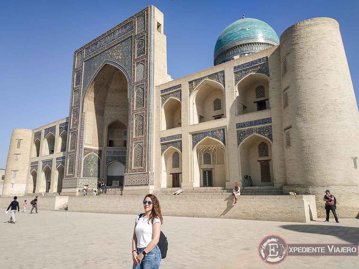 Qué ver en Bukhara: Mezquita Mir-i Arab