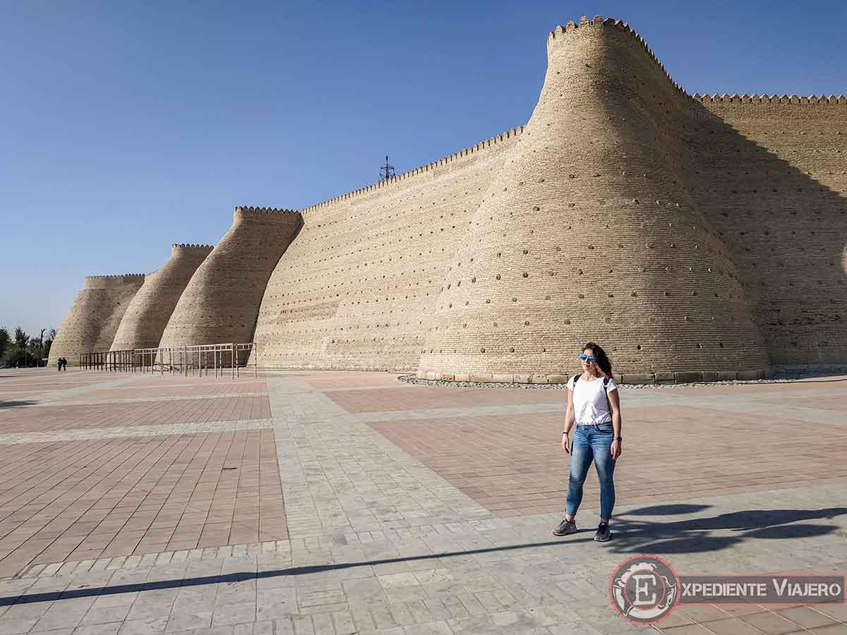 Qué ver en Bukhara: Fortaleza Ark