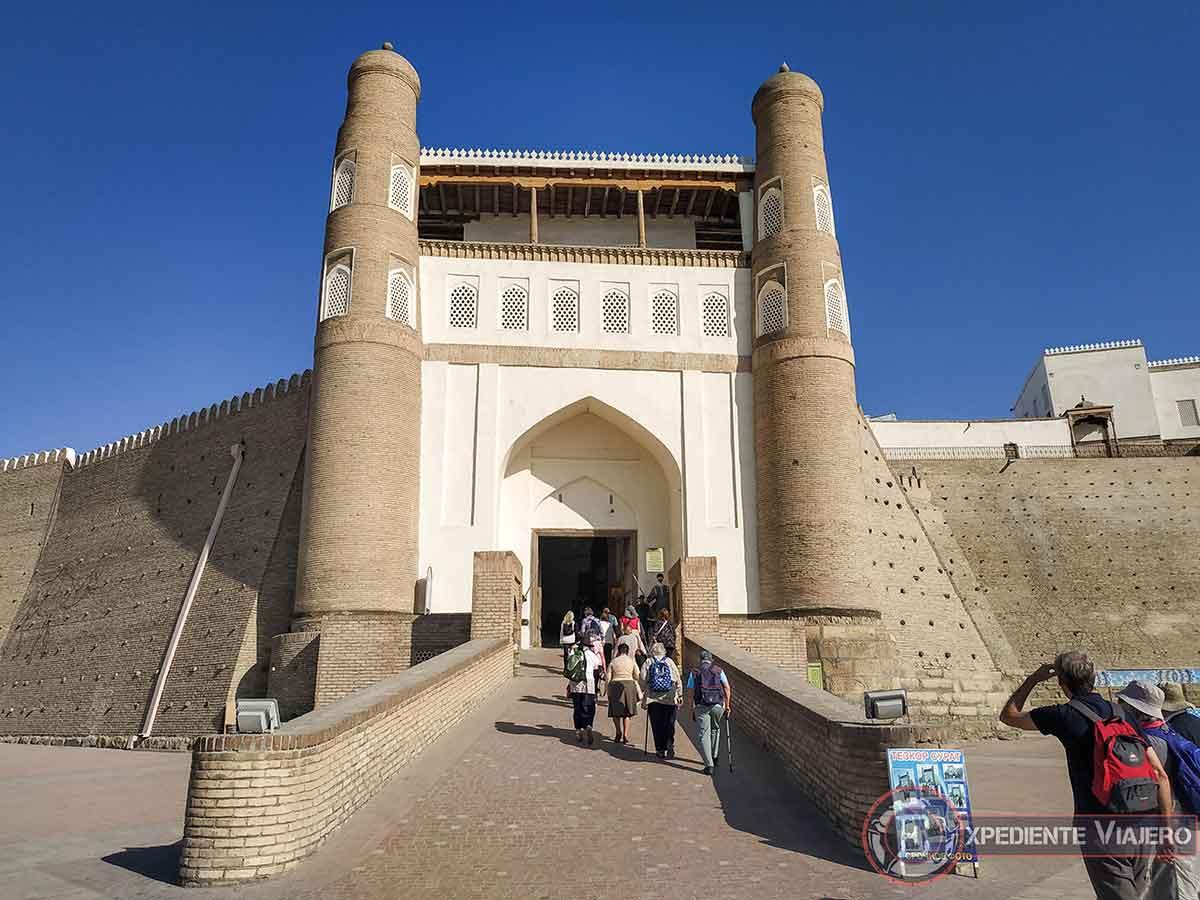 Entrada de la fortaleza Ark
