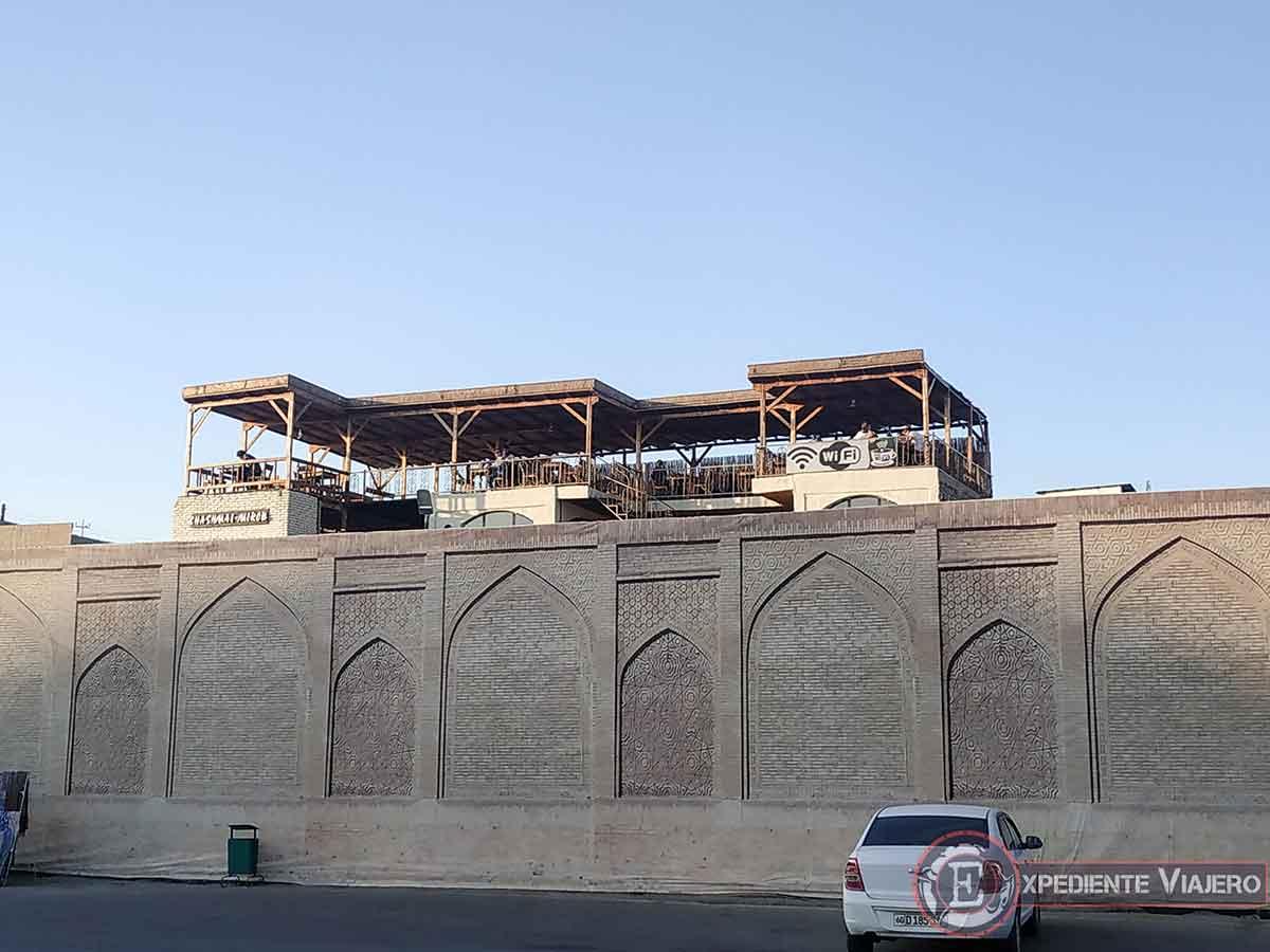 Qué ver en Bukhara: Tomar algo con las mejores vistas