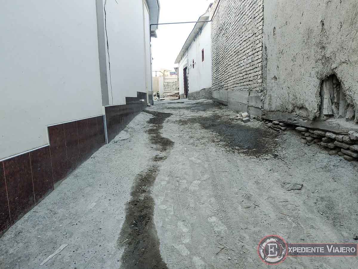 Buscando restaurante de plov en Bukhara