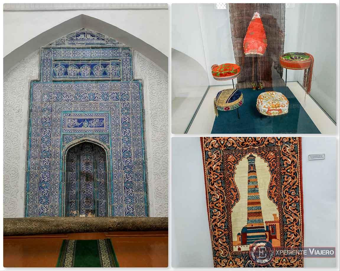 Interior de la madrasa Islam Khodja