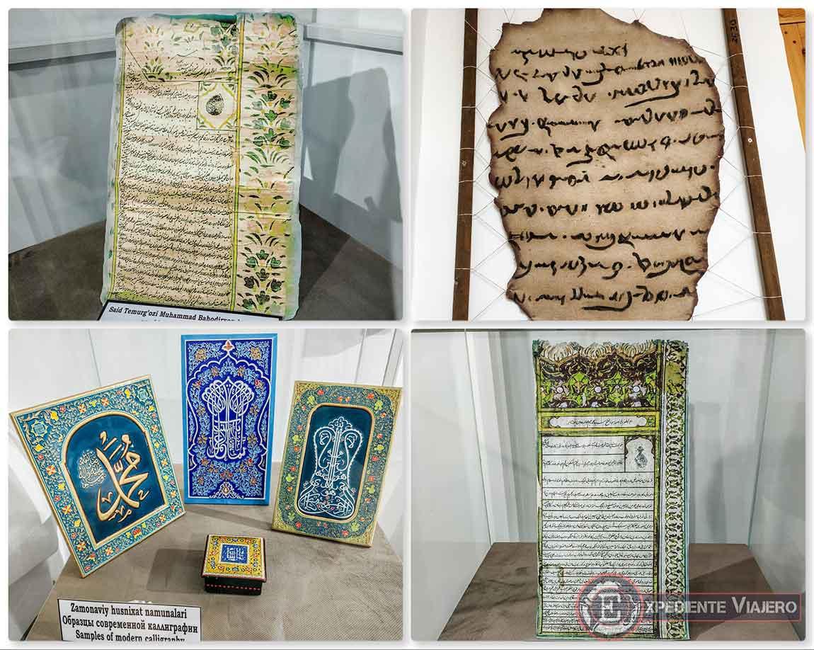 Caligrafía antigua