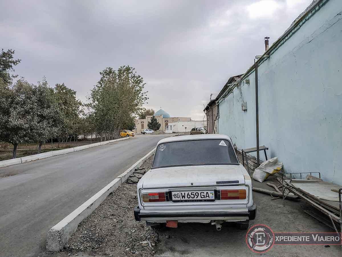 Andando por las calles de la ciudad de Bujará