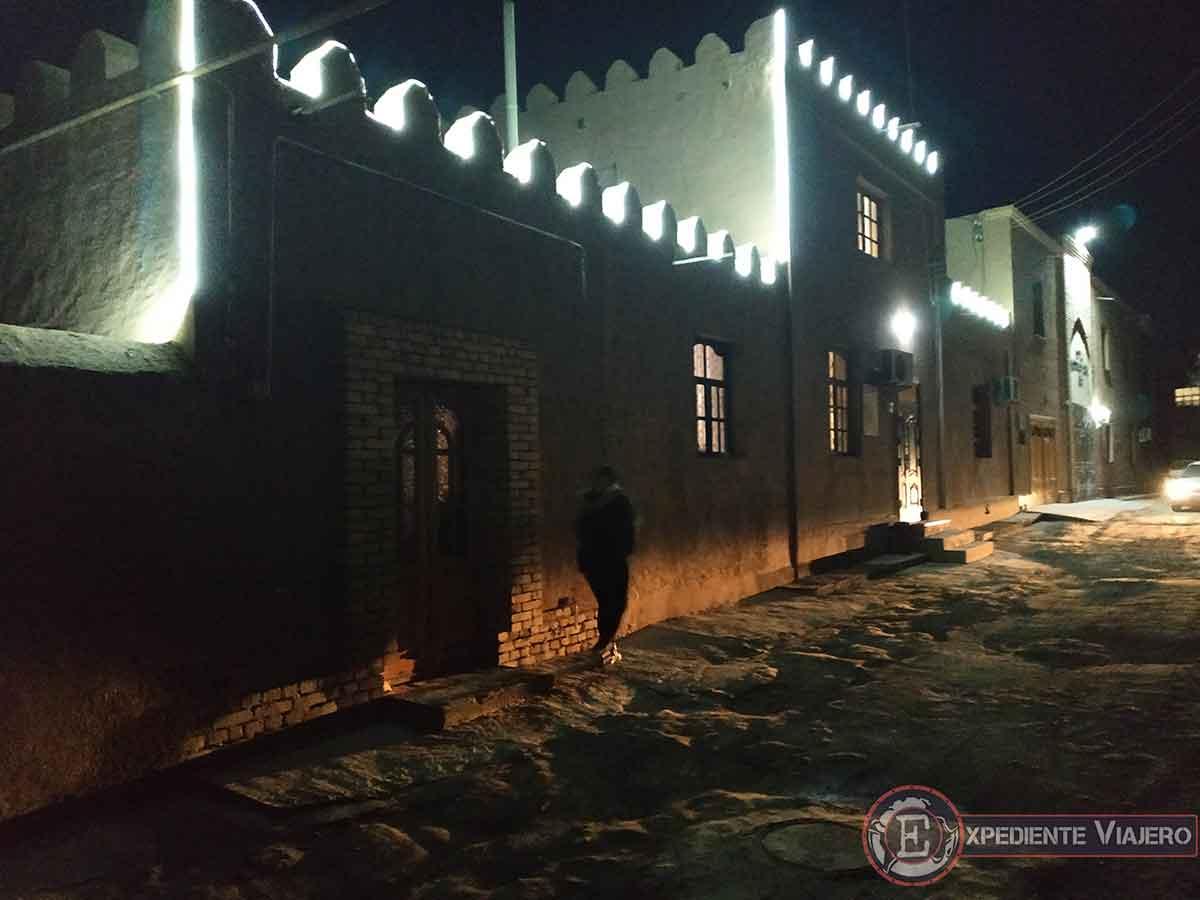 Guesthouse de Jiva de noche