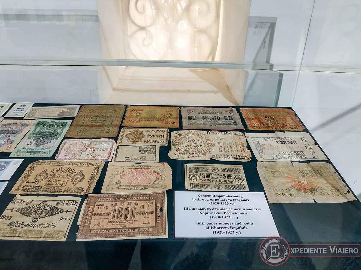 Antiguos billetes