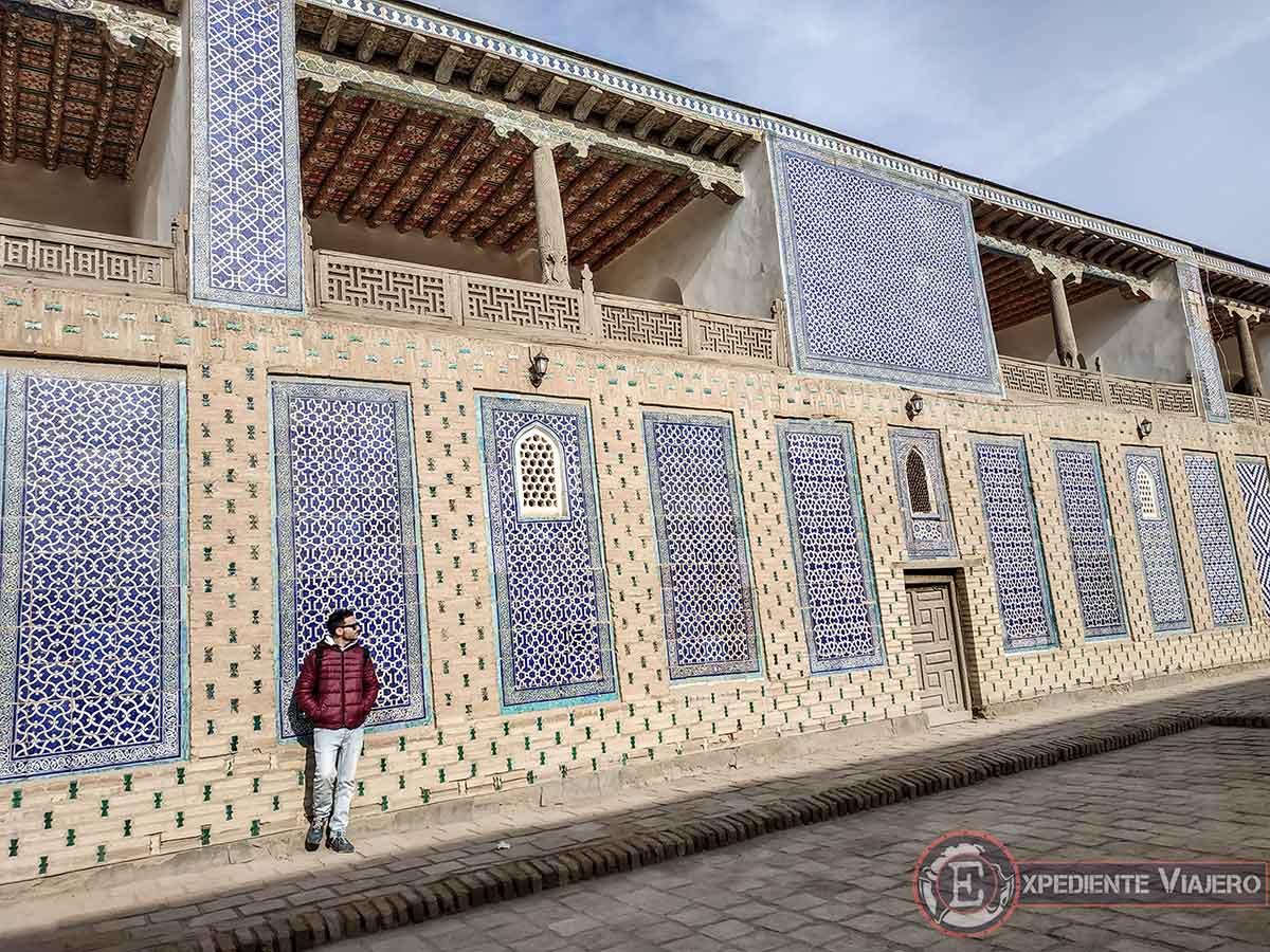 Qué ver en Jiva: Palacio Tosh-Hovli