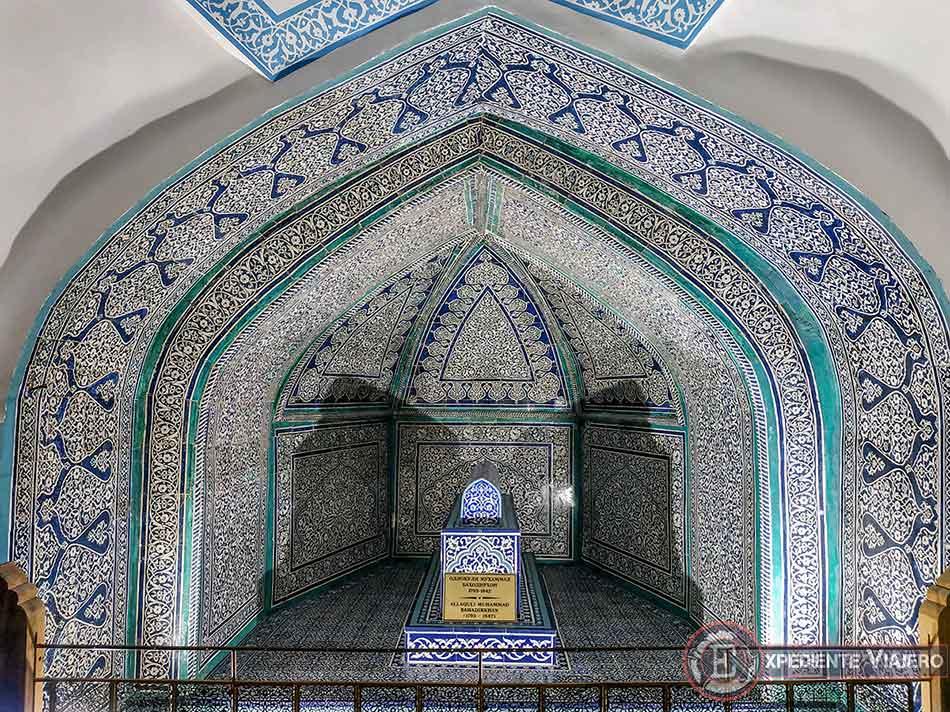 mosaicos del mausoleo