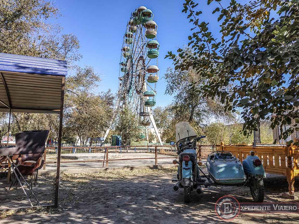 Parque de atracciones al más puro estilo soviético