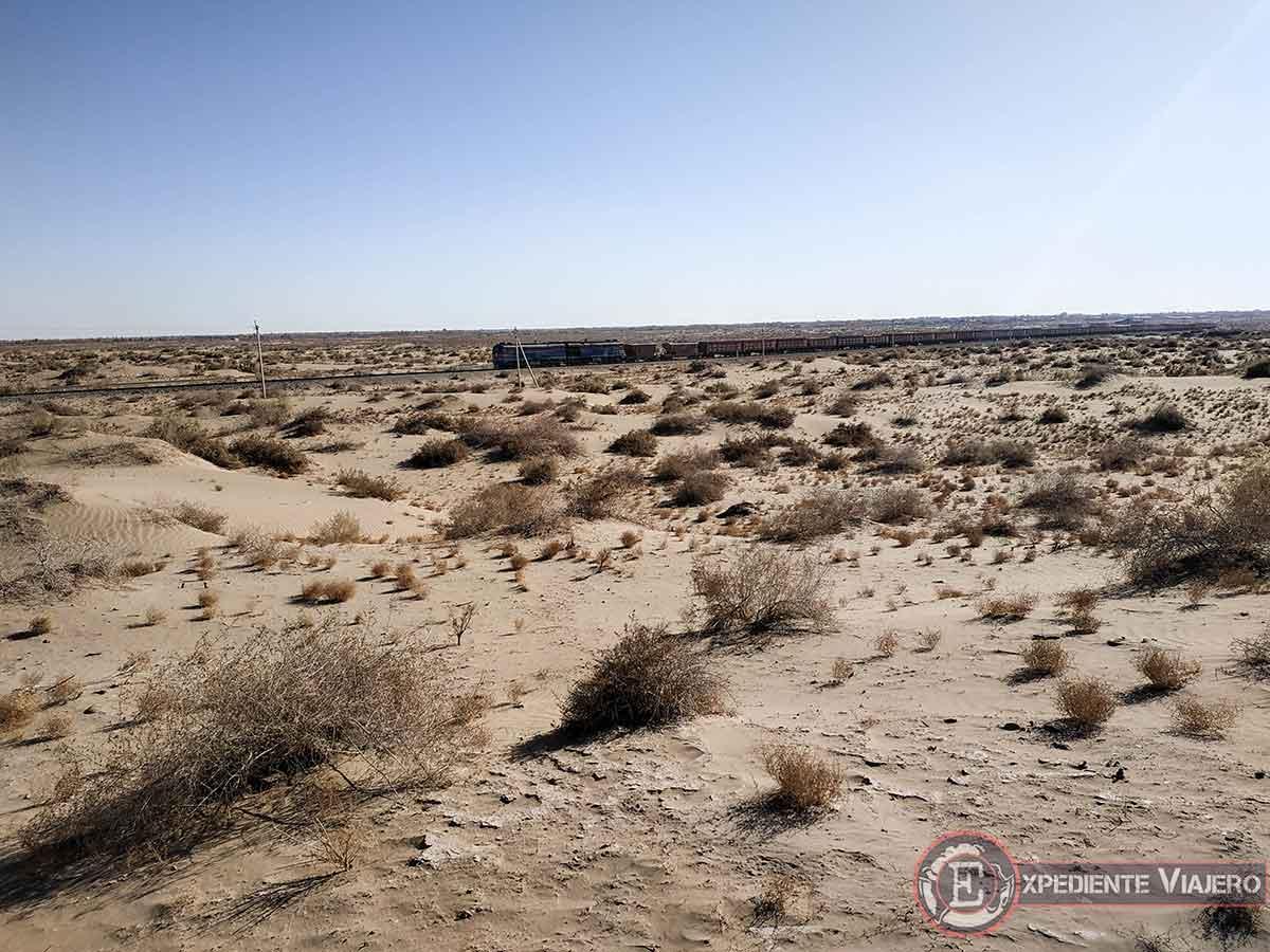 Tren del desierto
