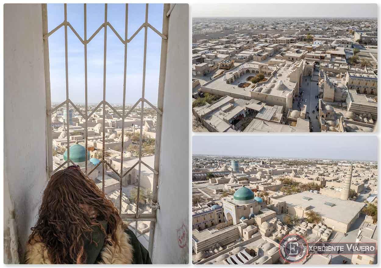 Vistas desde lo alto del minarete