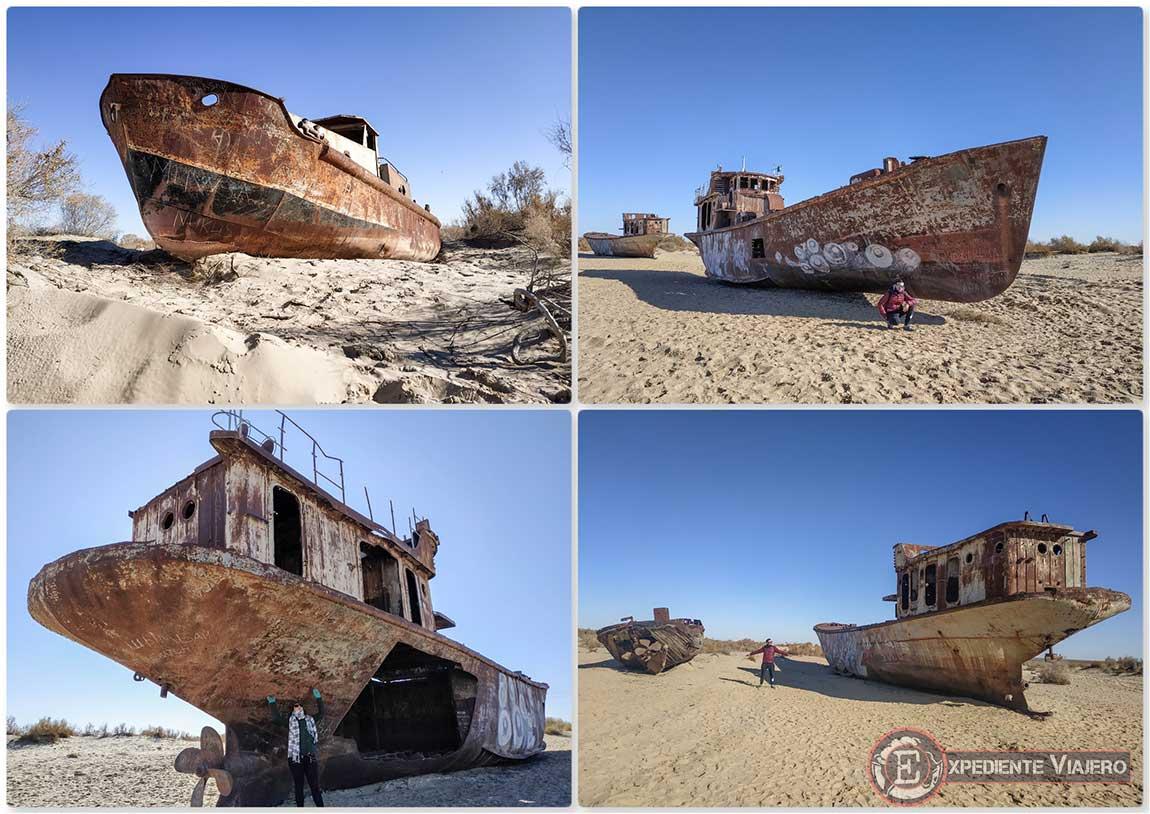Barcos fantasma de Moynaq