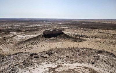 Las fortalezas del desierto de Uzbekistán