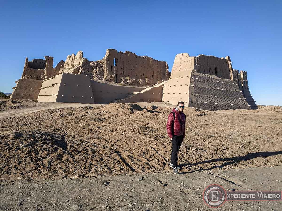 Fortalezas del desierto de Uzbekistán: Kyzyl-Kala