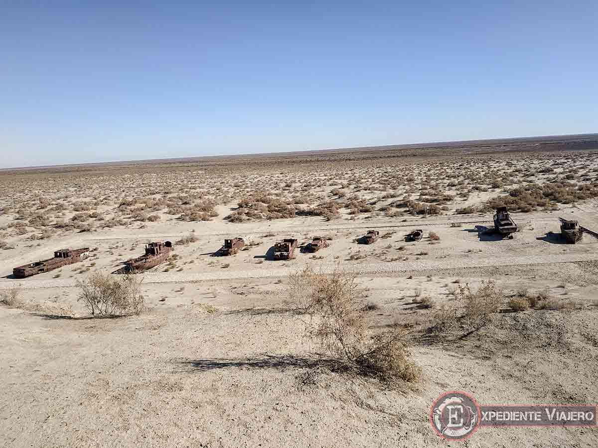 Qué ver en Moynaq: Desierto del Mar de Aral
