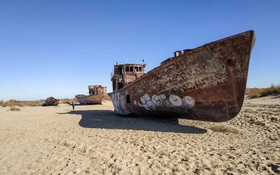 El Mar de Aral y sus barcos fantasma