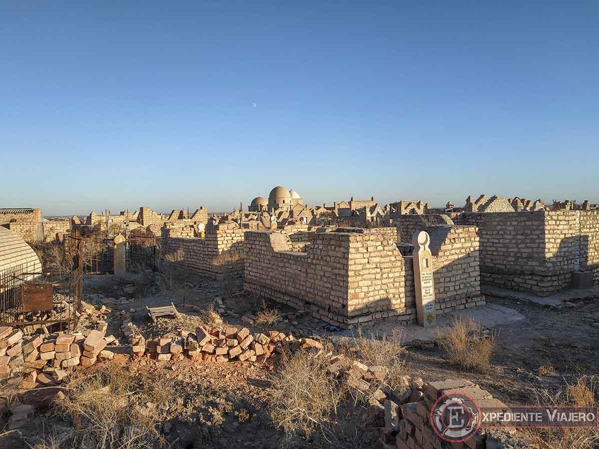 Tumbas de la necrópolis de Mizdakhan