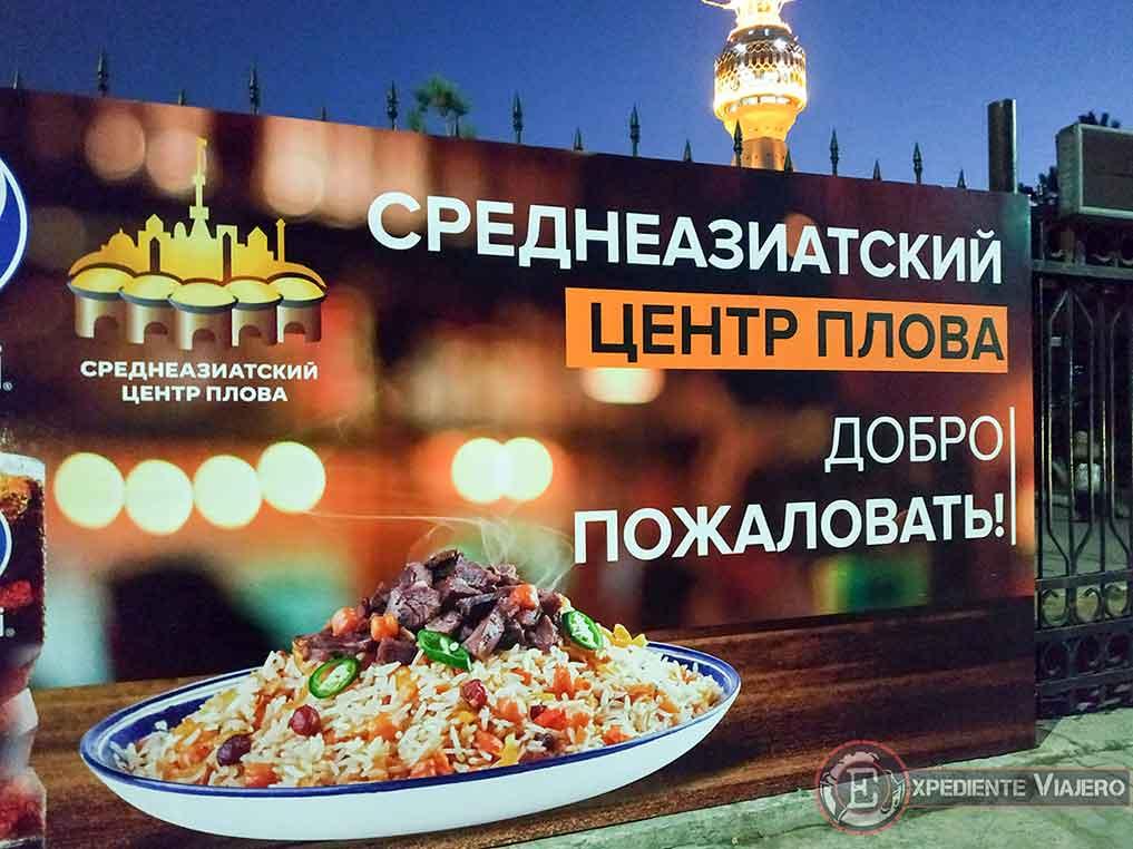 Restaurante Plov Center de Tashkent