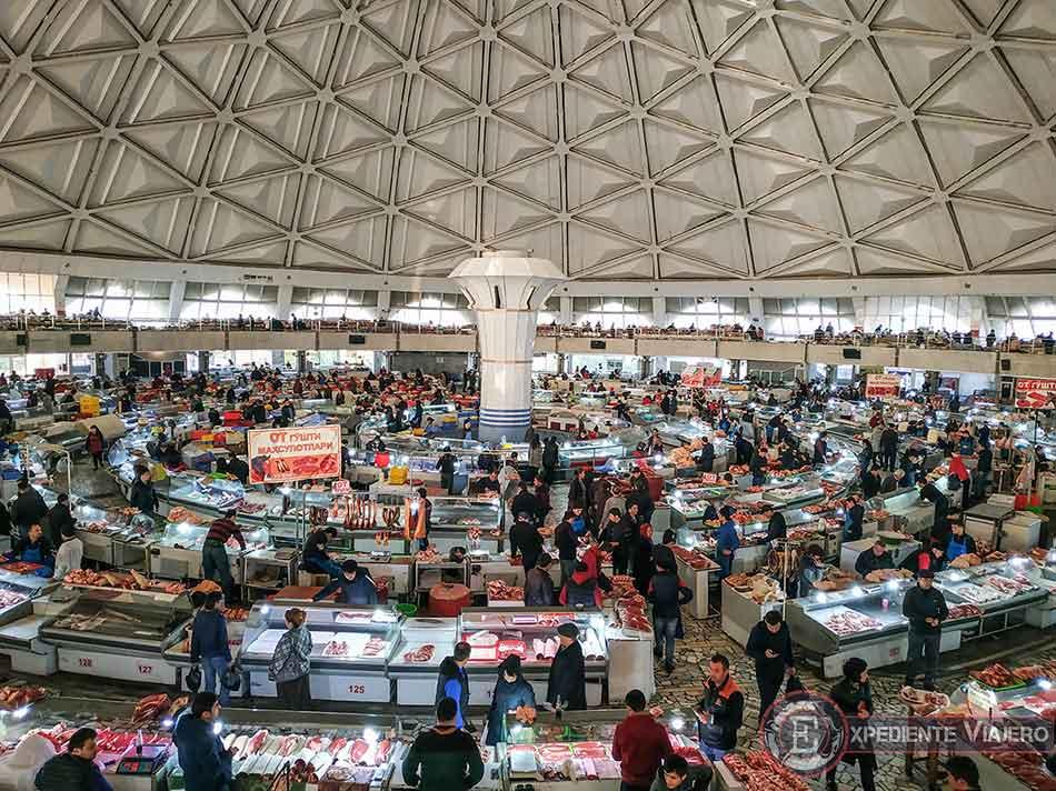 Interior de Chorsu Bazaar