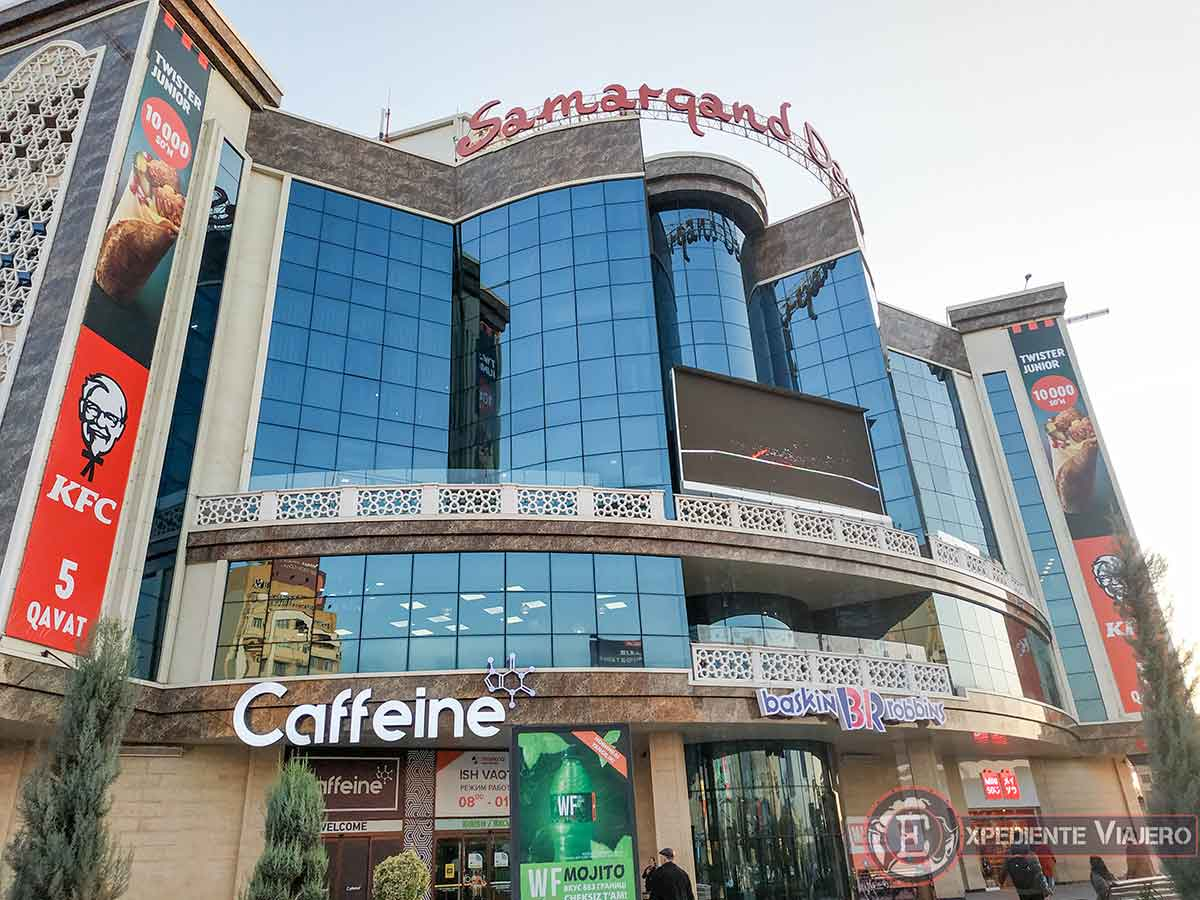Centro Comercial Samarqand Darvoza