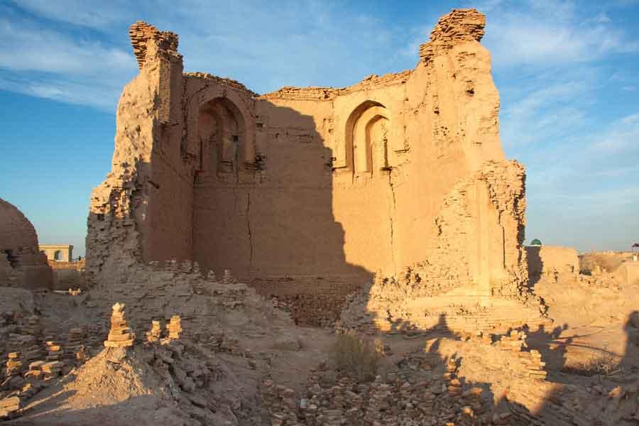 Mausoleo de la tumba de Adán