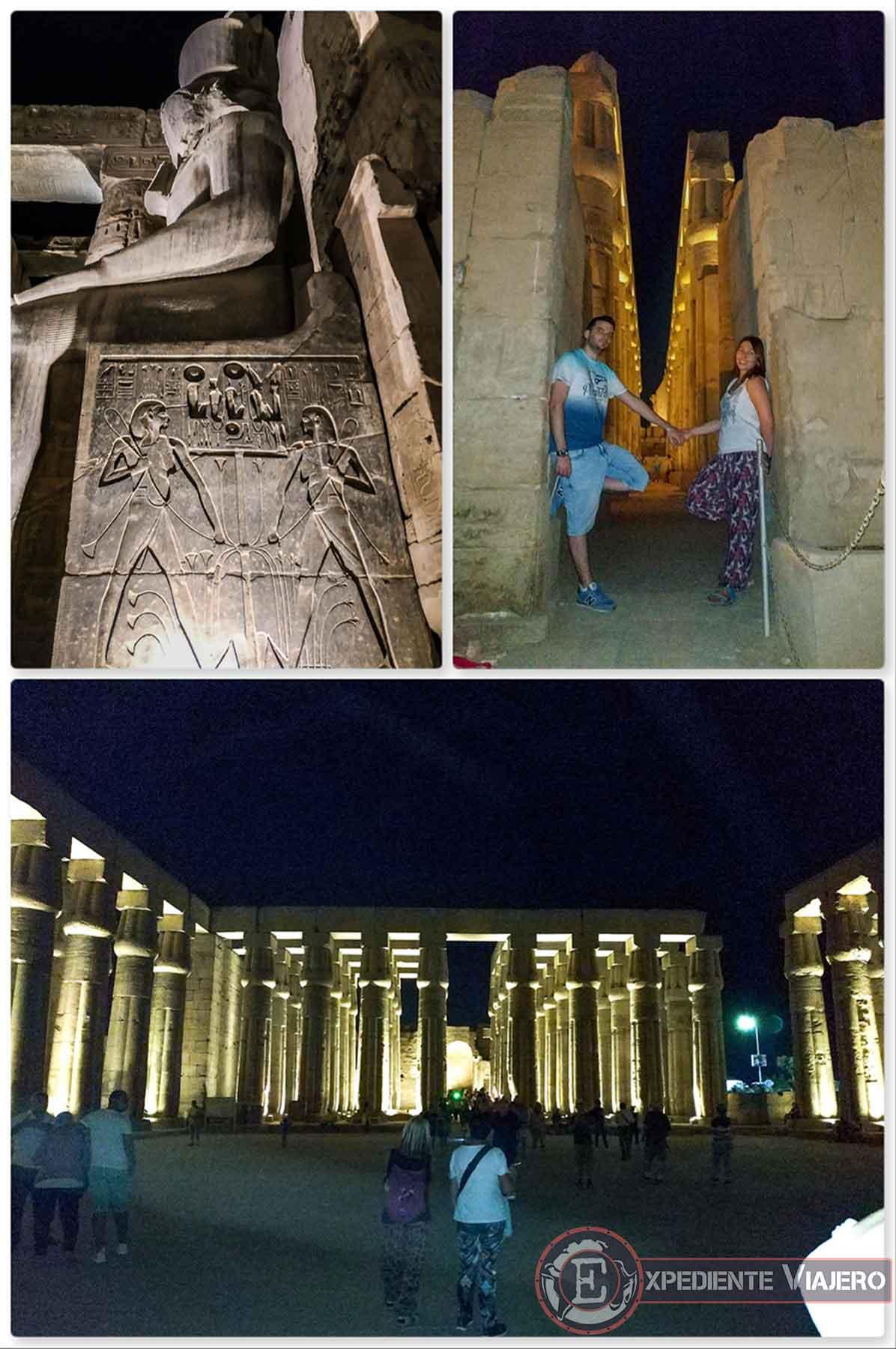 Templo de Luxor de noche
