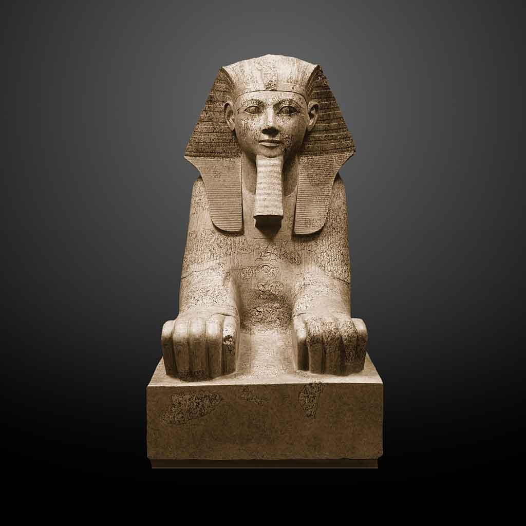 Hatshepsut con barba de faraón