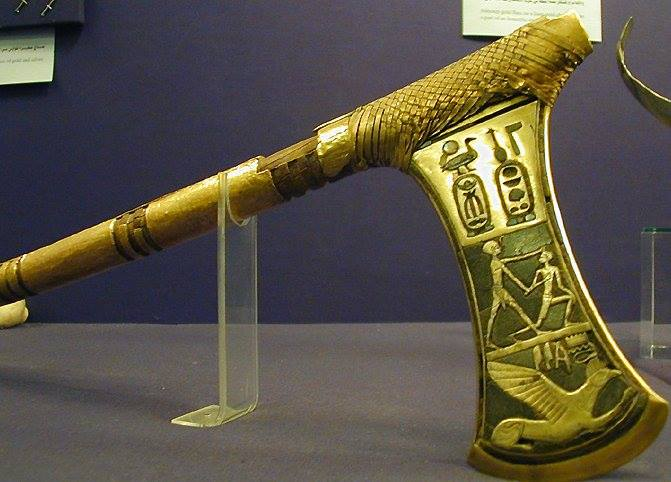 Hacha de guerra de Tutmosis III