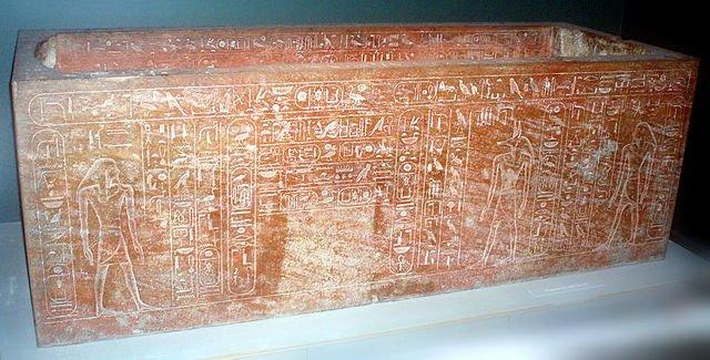 Sarcófago hecho para Hatshepsut