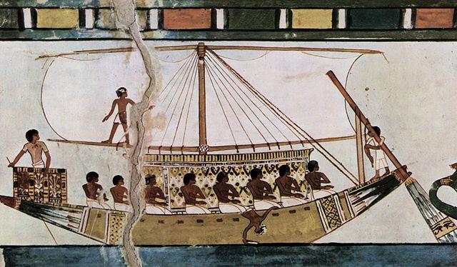 Barcos de guerra de Tutmosis III