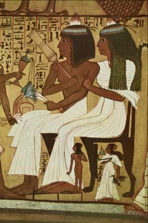 Boda en el antiguo Egipto