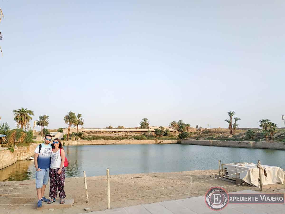 Lago sagrado de Karnak