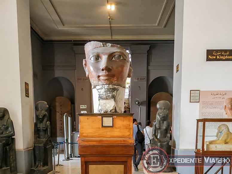 La cara de Hatshepsut