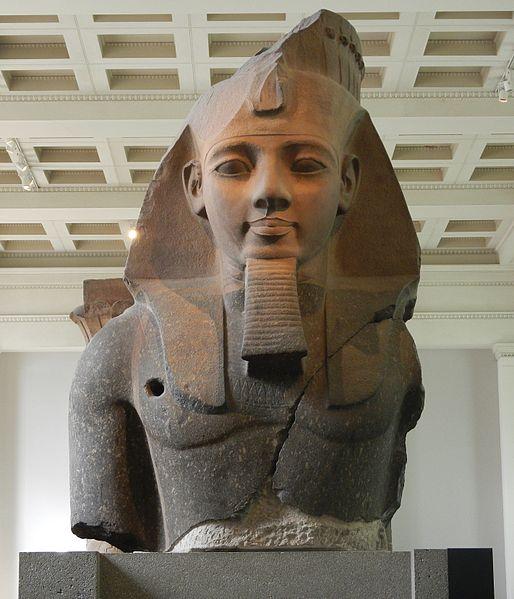 Juventud de Ramsés II