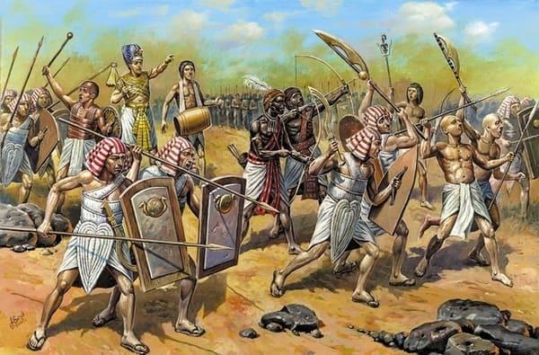 Tutmosis III vence a los sirios