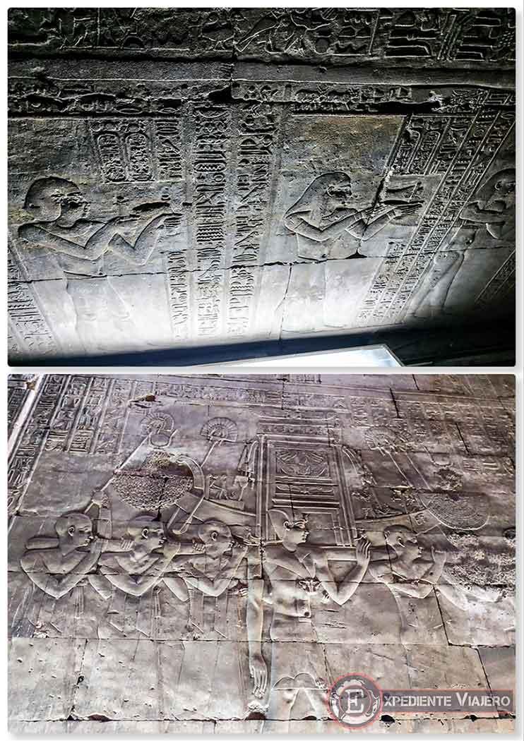 Sala Hipóstila del Templo de Horus
