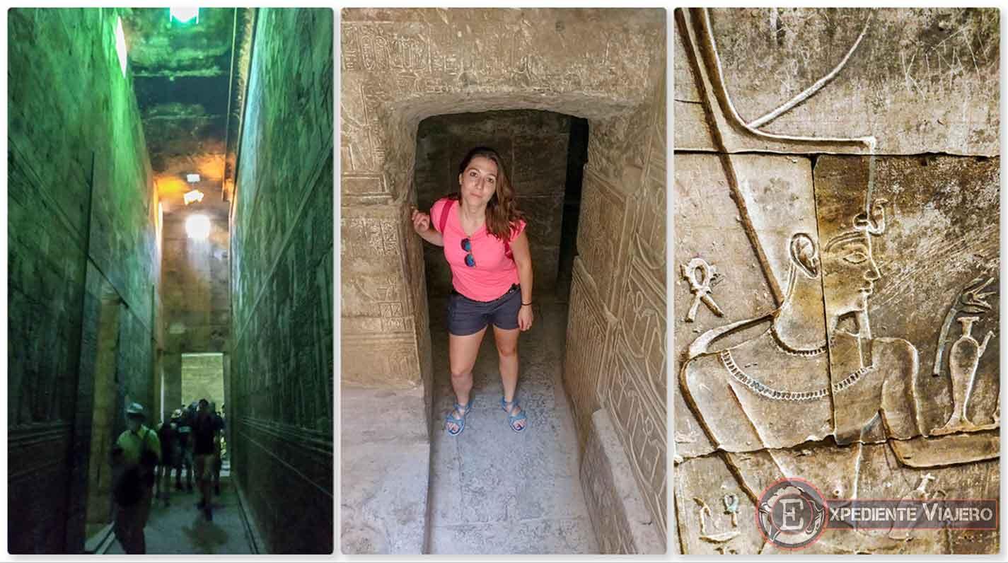 Recorriendo las entrañas del Templo de Horus (Edfu)