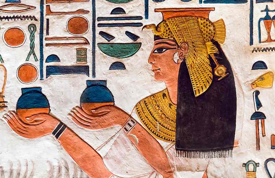 La historia de la reina Nefertari