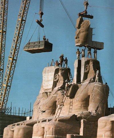 Reconstrucción de Abu Simbel